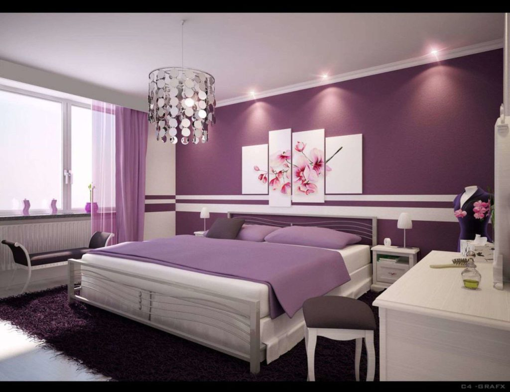 alluring-gray-and-purple-bedroom-ideas-and-bedroom-awesome-gray-purple-bedroom-ideas-offers-cool-details