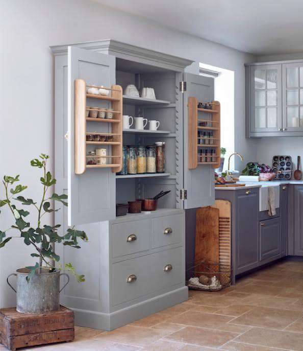 The free standing kitchenette