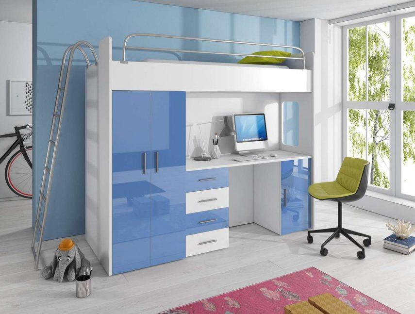 lofe bedroom with walk in wardrobes